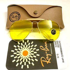 Aviator Outdoorsman Ray Ban yellow kalichrome